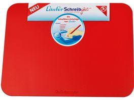 Laeufer Schreibtischunterlage SchreibGut 46x34cm rot