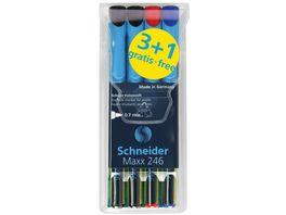 Schneider Schueler Folienstift Maxx 246 4er Etui