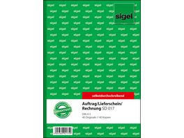 sigel Kombibuch SD017 A5 2 x 40Blatt