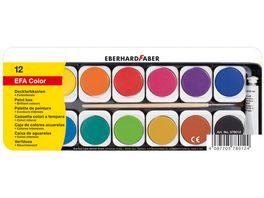 EBERHARD FABER Deckfarbkasten mit Deckweiss 12 Farben