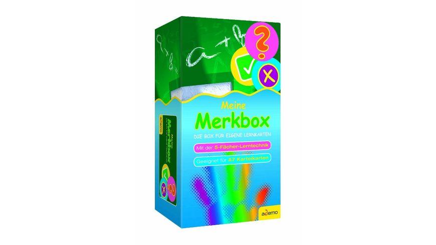 Karteibox Meine Merkbox A7