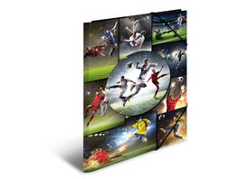 HERMA Sammelmappe A3 Football Karton