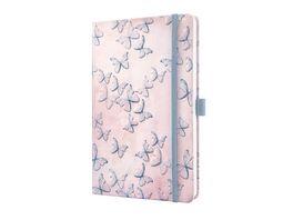 sigel Jolie Notizbuch liniert Dreamy Butterflies 135 x 203 x 16mm