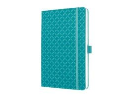 sigel Jolie Notizbuch liniert Aqua Green 135 x 203 x 16mm