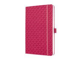 sigel Jolie Notizbuch liniert Fuchsia Pink 135 x 203 x 16mm
