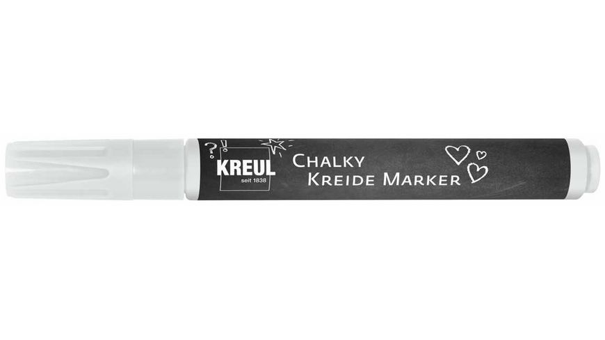 KREUL Chalky Kreidemarker medium Snow White