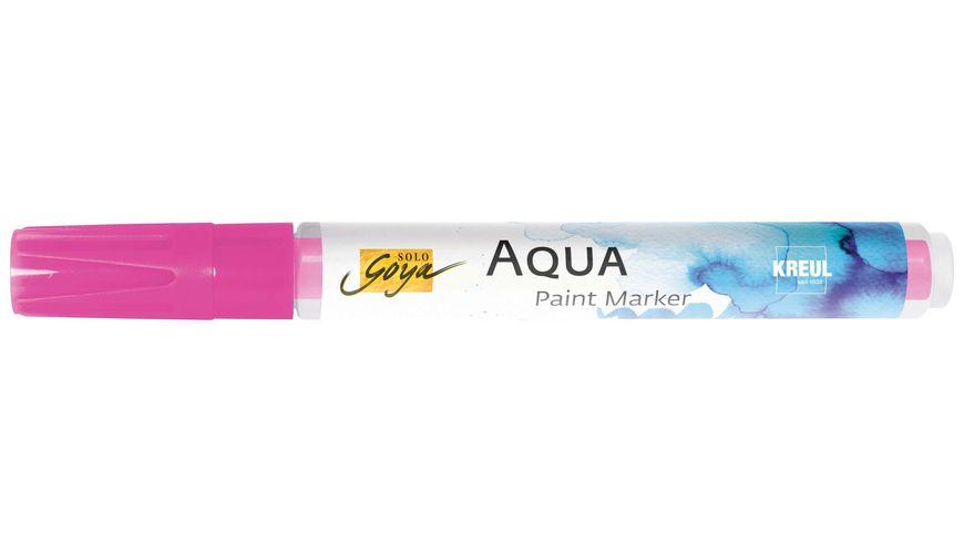 SOLO GOYA Aqua Paint Marker Cyan