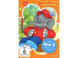 Benjamin Bluemchen Box 3 3 DVDs