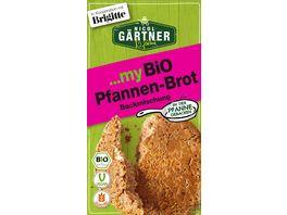NICOL GAeRTNER myBIO Brotbackmischung Pfannen Brot