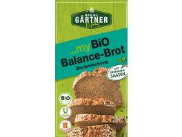 NICOL GAeRTNER myBIO Brotbackmischung Balance Brot