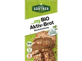 NICOL GAeRTNER myBIO Brotbackmischung Aktiv Brot