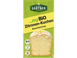 NICOL GAeRTNER myBIO Kuchenbackmischung Zitronen Kuchen