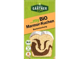 NICOL GAeRTNER myBIO Kuchenbackmischung Marmor Kuchen
