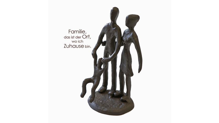 Casablanca mini Design Skulptur Eltern mit Kind