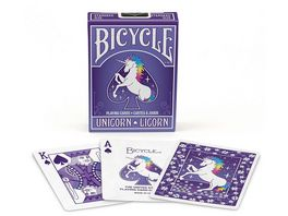 Bicycle Poker Kartendeck Unicorn