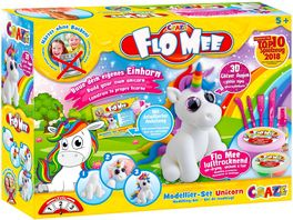 CRAZE Flo Mee Modellier Set Unicorn