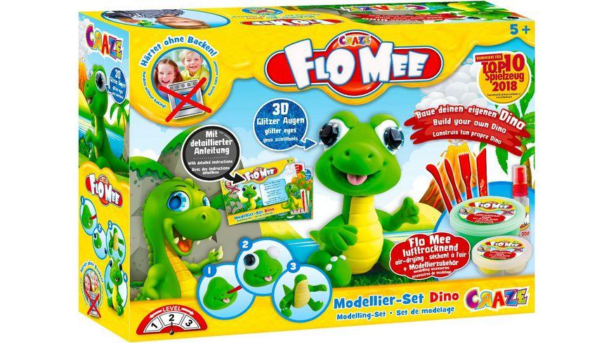 CRAZE Flo Mee Modellier Set Dino