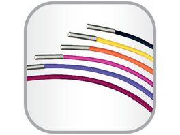 my book flex Gummibandset fuer Notizheft A4 orange violett pink