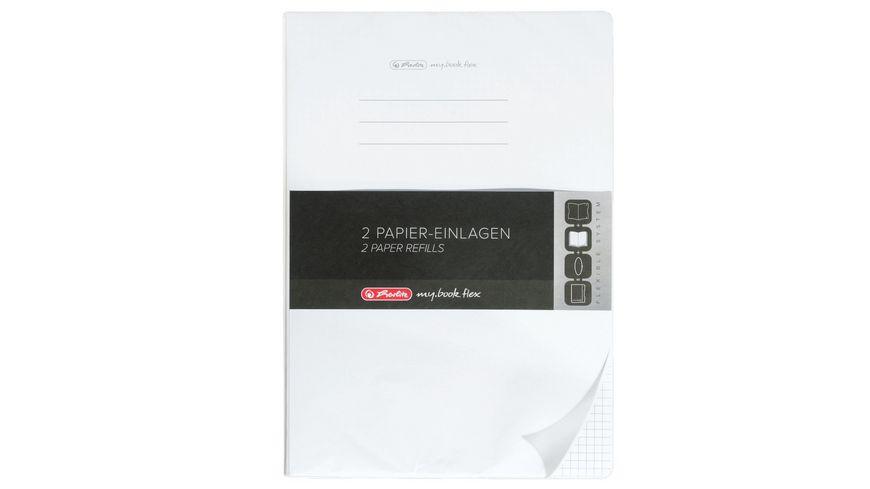 my book flex Notizheft Refill A5 2x40Blatt liniert