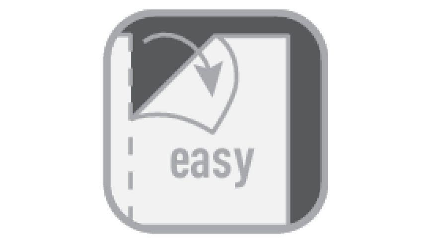 herlitz my book flex Notizheft Refill A4 2x40Blatt kariert