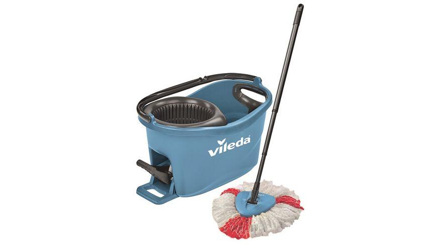 vileda Turbo Easy Wring Clean Komplettset blau