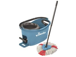 vileda Turbo Easy Wring Clean Komplettset blau