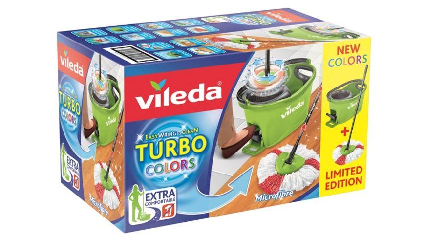 vileda Turbo Easy Wring Clean Komplettset gruen