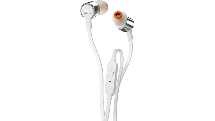 JBL T210 In Ear Headset weiss