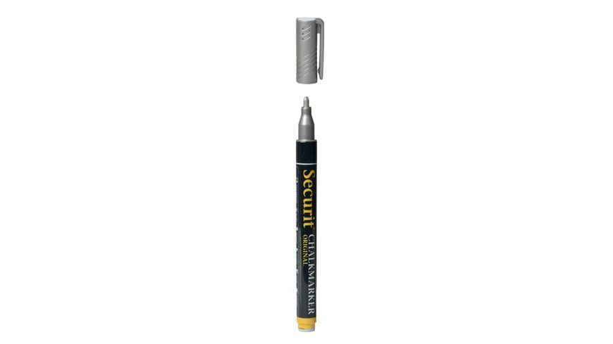 Securit Kreidestift silber 1 2mm