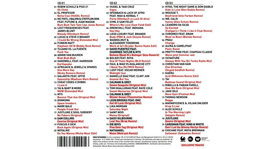 WePlay Club Charts Vol 3