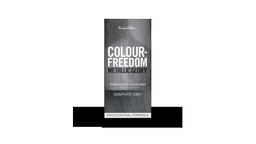COLOUR FREEDOM METALLIC GLORY Graphite Grey permanente Haarfarbe