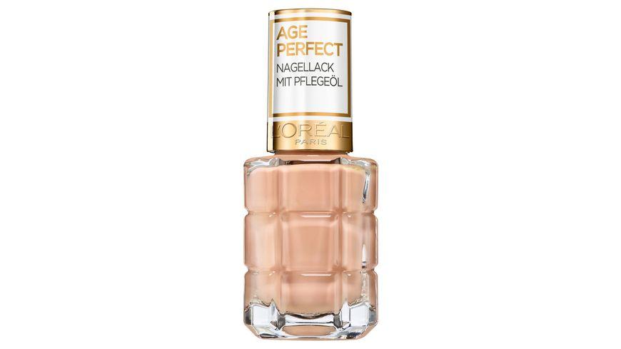 AGE PERFECT MAKE-UP von L'Oréal Paris Nagellack mit Pflegeöl