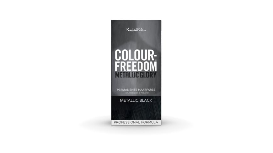 COLOUR FREEDOM METALLIC GLORY Metallic Black permanente Haarfarbe