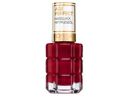 AGE PERFECT MAKE UP von L Oreal Paris Nagellack mit Pflegeoel