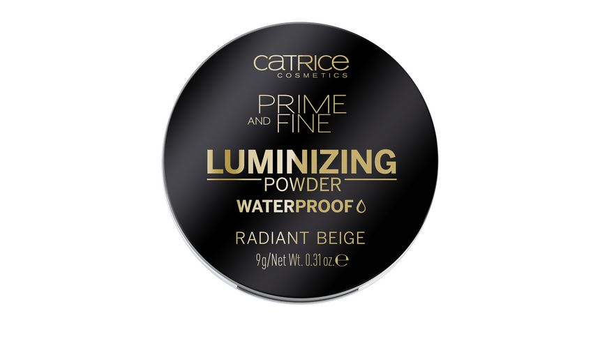Catrice Prime and Fine Luminizing Powder Waterproof