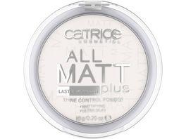Catrice All Matt Plus Shine Control Powder 001 Universal