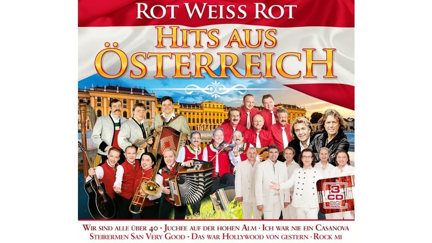 Hits aus Oesterreich rot weiss rot