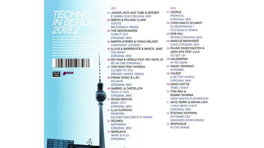 Techno In Berlin 2018 2