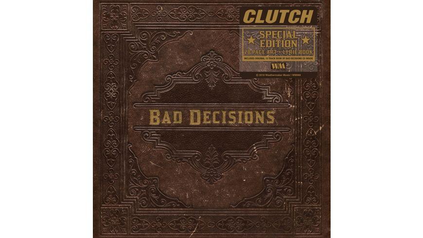 Book Of Bad Decisions Ltd Book Edition CD