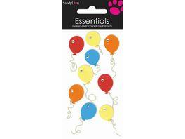 Handgemachte 3D Motiv Sticker Ballons