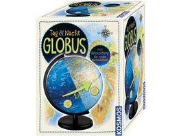 Tag und Nacht Globus