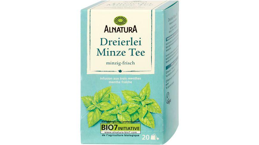 Alnatura Minze Dreierlei Tee