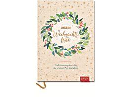 Unsere Weihnachtsfeste Ein Erinnerungsbuch fuer die schoenste Zeit des Jahres