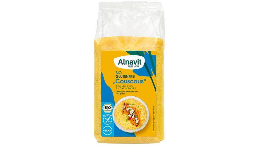"Alnavit Bio ""Couscous"" Mais & Reis - glutenfrei"