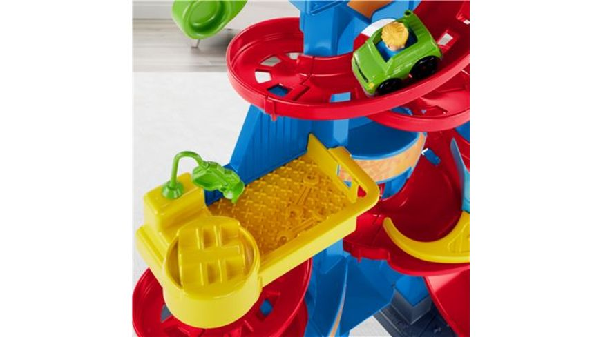 Fisher Price Little People Hochhaus Rennbahn