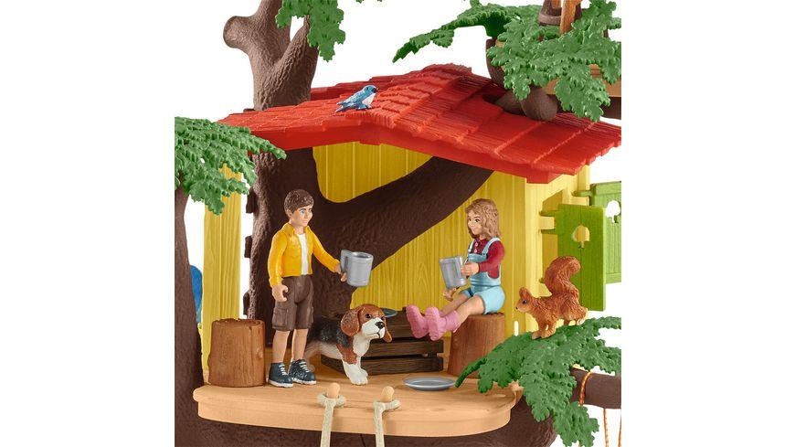 Schleich 42408 World of Nature Farm World Abenteuer Baumhaus