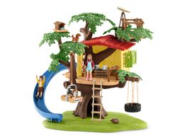 Schleich 42408 World of Nature Farm World Abenteuer Baumhaus