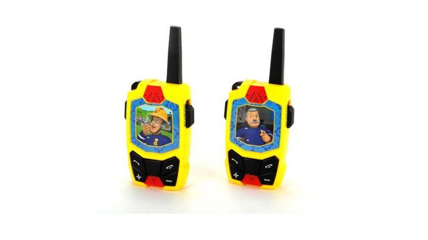 Dickie Toys Feuerwehrmann Sam Walkie Talkie