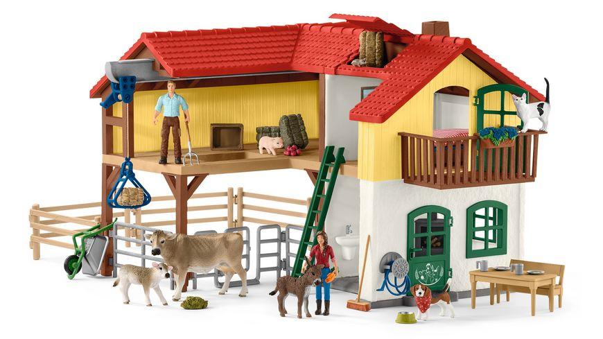 Schleich 42480 Farm World Welpenstube NEU OVP