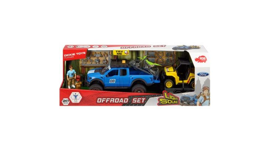 Dickie Toys PlayLife Offroad Set